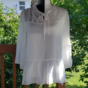 Sheer blouse by fever